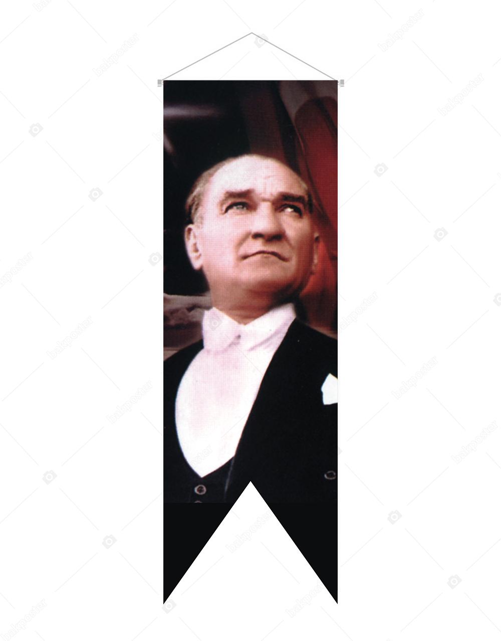 Atatürk Kırlangıç Flama Bayrak