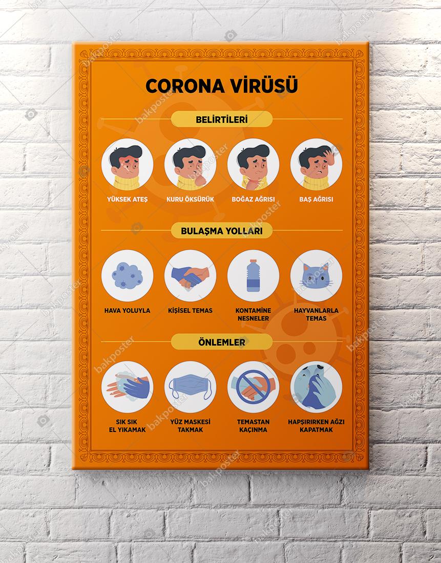 Corona Virüsü Poster