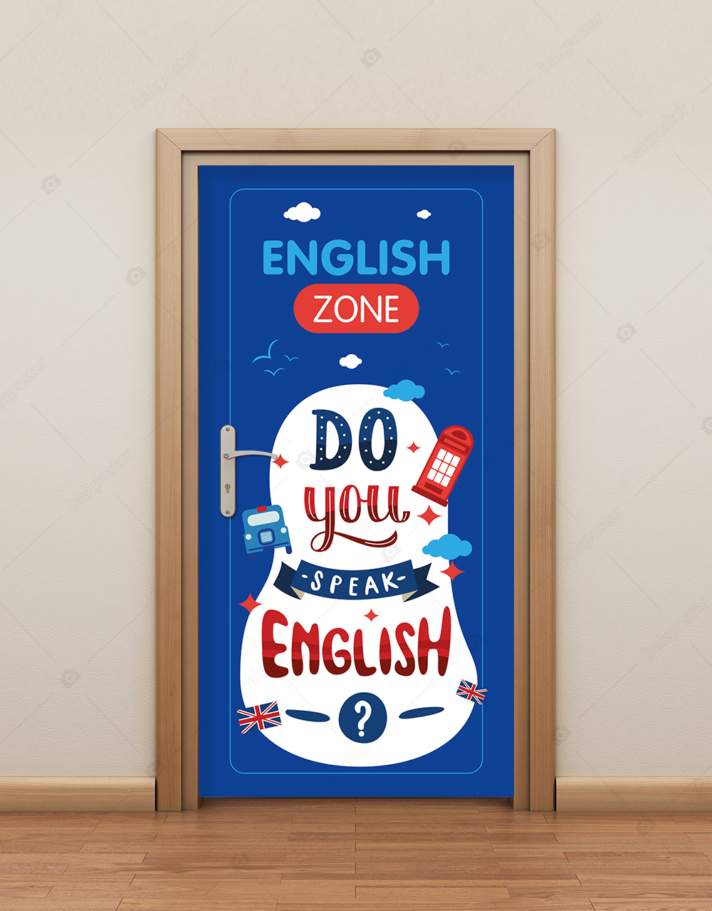 English Zone Kapı Giydirme