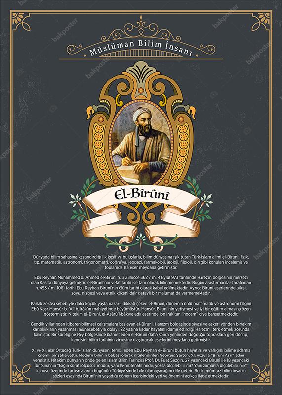 Müslüman Bilim Adamları El Biruni