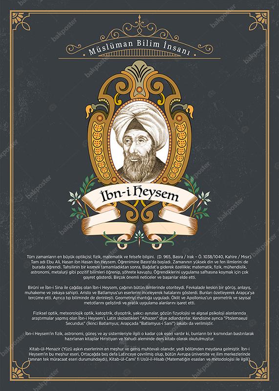 Müslüman Bilim Adamları İbn-i Heysem