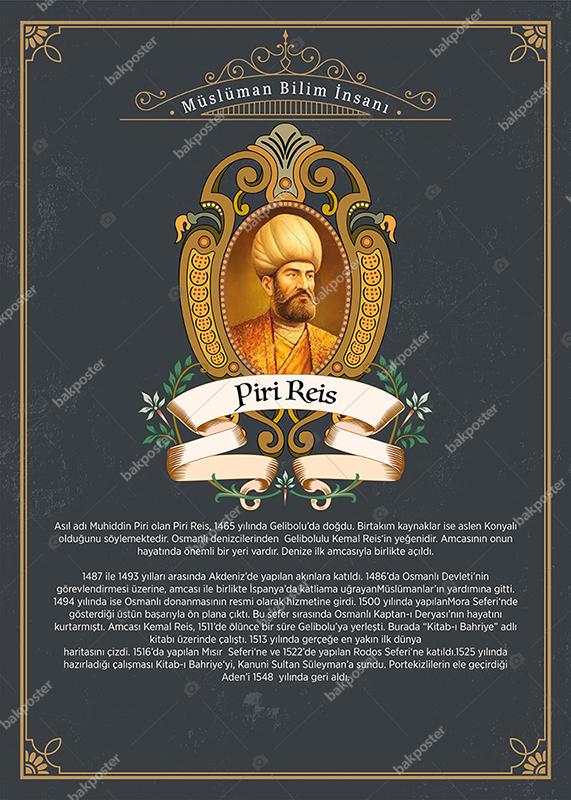 Müslüman Bilim Adamları Piri Reis