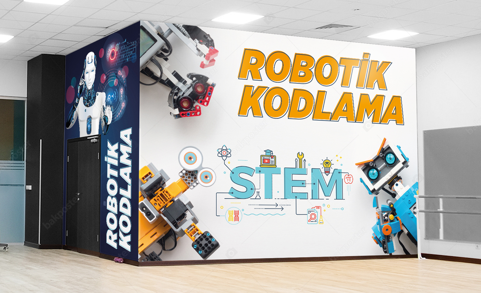 Robotik Kodlama Duvar Kağıdı