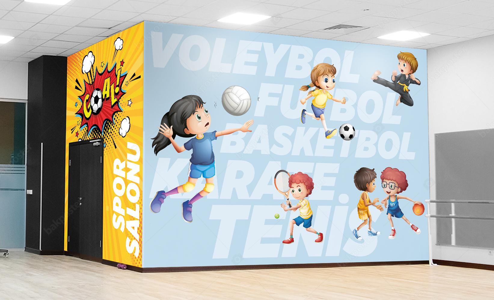 Spor Salonu Duvar Kağıdı