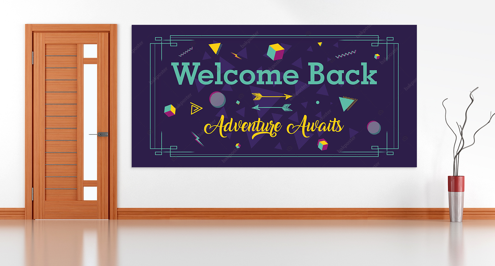 Welcome Back Adventure Auaits Görsel Poster